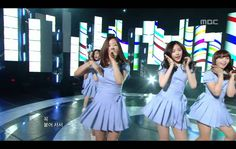 A Pink - I don't know, 에이핑크 - 몰라요, Music Core 20110507