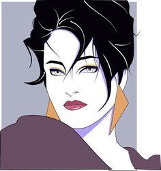 80's style illustration