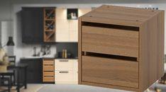 IKEA Kitchen Drawer unit, brown - VADHOLMA Kitchen Drawer Units, Ikea Kitchen Drawers, Ikea Kitchen Cabinets, Ikea Kitchen Planning, Ikea Kitchen Installation, Filing Cabinet, Kitchen Ideas, The Unit, Storage