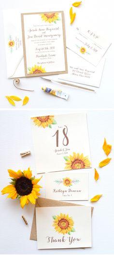 watercolor-flower-wedding-invitations-with-sunflowers.jpg 900×2.009 pixel