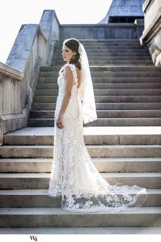Beautiful Bride at Biltmore Estate  Asheville, NC  Cool#Great# wedding photo idea# bridal photo idea