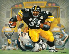 HOVer Jerome Bettis mowing down Urlacher on the way to a TD and Super Bowl XL! Pittsburgh Steelers Wallpaper, Pittsburgh Steelers Football, Pittsburgh Sports, Dallas Cowboys, Nfl Football Players, Football Memes, Football Art, Steelers Pics, Pitt Steelers