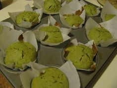 Matcha Muffins... like the ones Trader Joe's used to have!!!  Also great with chocolate chips!