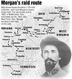 Morgan's raiders- an epic raid into Federal territory