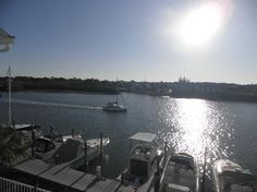 A view of the intercoastal taken by a hotel guest. #hiharbourside