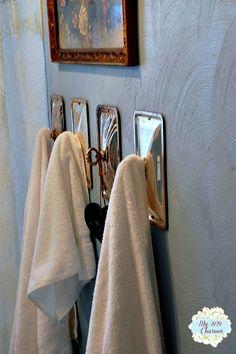 Vintage Chafing Dish Lid Towel Holders   Hometalk