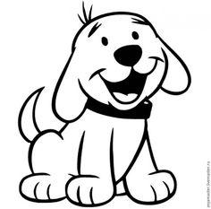 Предлагаю создать вот такого милого, невероятно веселого щенка, который очень рад первой в его жизни зиме, и ни мороз, ни ветер не испортят ему хорошего настроения. Вдохновил меня на создание этой собаки-улыбаки вот такой симпатичный рисунок, случайно встретившийся на просторах Интернета. К сожалению, автора мне найти не удалось. Итак, для работы над щенком (не учитывая шарфика) нам понадобятся: 1.