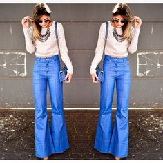 Inspiration look jeans, by Thassia Naves!
