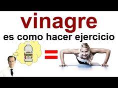 Tomar Vinagre es como hacer Ejercicio (dosis para adelgazar) - YouTube