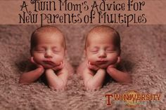 A mom of twins shares practical tips and product suggestions to help new parents of multiples who could use some good advice!