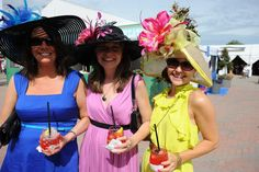 Welcome to Kentucky Oaks A wonderful day in the sun at Churchill Downs to dress up and enjoy a famous Gray Goose Lily! Kentucky Derby Fashion, Pink Out, Churchill Downs, Derby Day, Kentucky Wildcats, Favorite Things, Lily, Women's Fashion, Sun