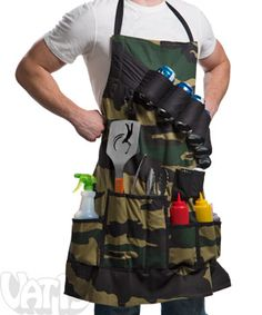 For the serious chef, the Grill Sergeant apron