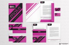 Check out Event  Artistic Corporate Identity by ThatsDesign on Creative Market