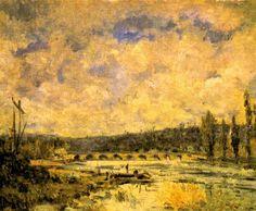 Alfred Sisley Il ponte di Sèvres