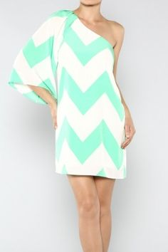 salediem.com has the best Missoni Prints on Sale now!!!Shipping is FREE.CHEVRON PRINT ONE SHOULDER DRESS