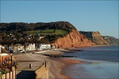 Sidmouth from Connaught Gardens.