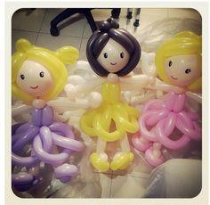 Doll balloon character #doll  #balloon #sculpture #twist #art #character