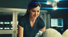 Erica Durance (in Saving Hope episode - Blindness) Saving Hope, Erica Durance, Smallville, Tv, Prison, Television Set, Television