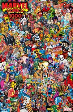 Marvel Comics Collage By Mr Garcin Poster - Midtown Comics Graffiti Wallpaper Iphone, Marvel Wallpaper, Galaxy Wallpaper, Iphone Wallpaper, Superman Wallpaper, Marvel Art, Marvel Heroes, Marvel Avengers, Marvel Comics