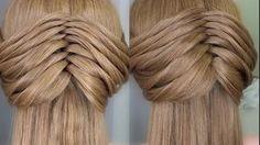 Penteados Faceis de Fazer Sozinha - Twist Braid   Peinado 2015 - 2016