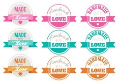 Handmade With Love! How to Create Vintage Badge Vectors in Illustrator - tutorial from Vectips