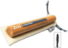 """ZAO's """"volume"""" mascara is formulated to thicken and lengthen  the lashes. Also, its natural and organic ingredients are perfectly safe for sensitive eyes and will not cause any redness or irritation."""