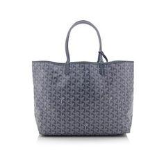 Rental Goyard St. Louis PM Tote (1 355 SEK) ❤ liked on Polyvore featuring bags, handbags, tote bags, grey, goyard tote, gray purse, goyard tote bag, gray tote and gray tote bag