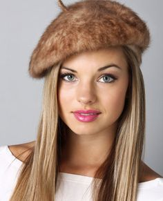 Furry French Beret