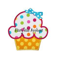 Digital Machine Embroidery Design   Birthday by FairytaleApplique, $4.00