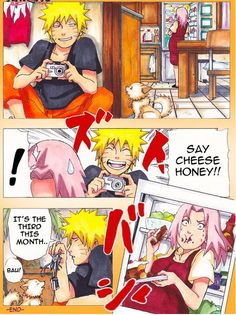 Naruto x Sakura | NaruSaku | Heaven  Earth | Orange / Yellow  Pink / Red | Future | OTP