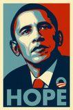 Poster for the livingroom  Obama Hope