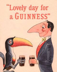 35 Deliciously Fun Vintage Guinness Ads Guinness, Vintage Advertisements, Vintage Ads, Vintage Logos, Retro Logos, Retro Ads, Vintage Labels, Vintage Travel, Posters Vintage
