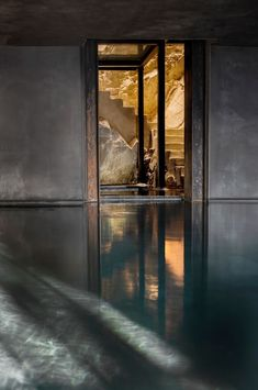 Crumbling buildings have been transformed into the boutique Monteverdi Hotel in Tuscany, which includes rustic bedroom suites and a cavernous spa. Hotels In Tuscany, Ceiling Shades, Purple Walls, Interior Design Magazine, Monteverde, Ancient Romans, Restoration, Scene, House Design