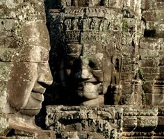 Around 1.6 million people a year visit the temples of Angkor Wat.