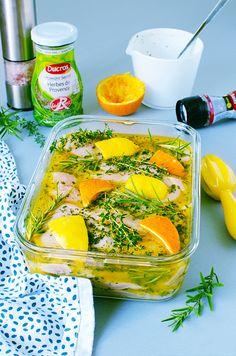 Seaweed Salad, Vinaigrette, Barbecue, Orange, Grilling, Meat, Ethnic Recipes, Sauces, Addiction