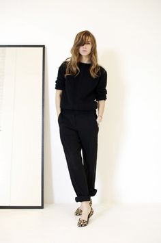 Emma Elwin - simple with black and leopard