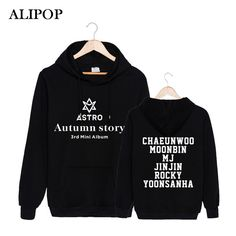==> [Free Shipping] Buy Best ALIPOP Kpop Korean Fashion ASTRO 3rd Mini Album Autumn Story Cotton Hoodies With Hat Clothes Pullovers Sweatshirt PT305 Online with LOWEST Price | 32818269613