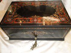 Grand Coffre Napoleon III En Marqueterie Boulle, Loft Antiq, Proantic