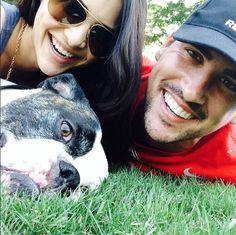 They've only been officially engaged for almost three months now, but it looks like Andi Dorfman and Josh Murray are having some major relat. Andi And Josh, Josh Murray, Andi Dorfman, Bachelorette Contestants, Fame Game, Latest Celebrity News, Life Moments, Abc News, Celebrity Couples