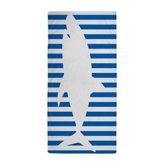 "Custom Shark Pattern Bath Towels Home&Bathroom Shower Towel Bath Wrap Washcloth Beach Towel 30""X56"" (One Side) -- Awesome products selected by Anna Churchill"