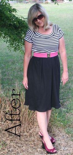 Free DIY T-Shirt Dress Pattern