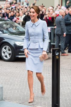 Kate Middleton Just Made History in a Sweet Yet Powerful Peplum Suit