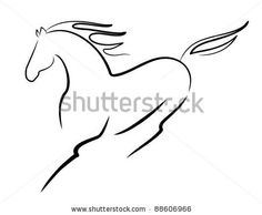 horse tattoo, might add something to it, but not sure what, something meaningful for sure, but also horse related :)