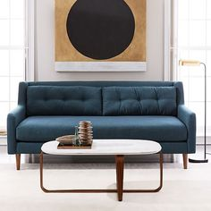 "Crosby Mid-Century Sofa (80"")"