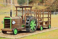 Toy tractor by Plaincrazy, via Dreamstime