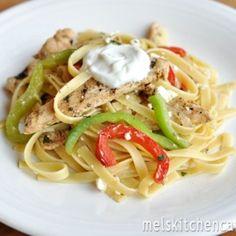 Grilled Chicken Fajita Fettuccine Recipe - ZipList