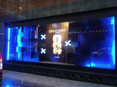 Décoration de vitrine CHAUMET Paris
