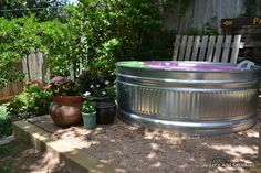Stock Tank Pool On Pinterest Stock Tank Pools And Backyards