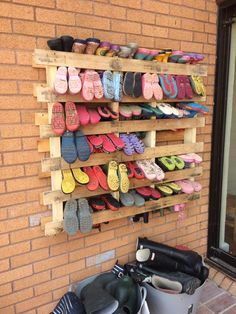pallet welly storage