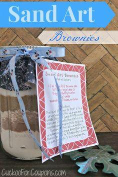 Sand Art Brownies